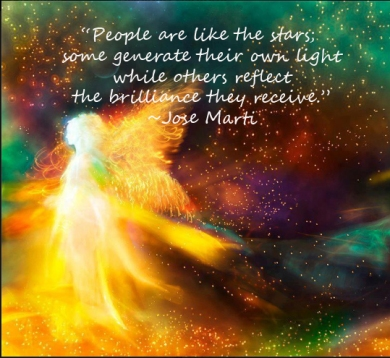 people are like the stars...